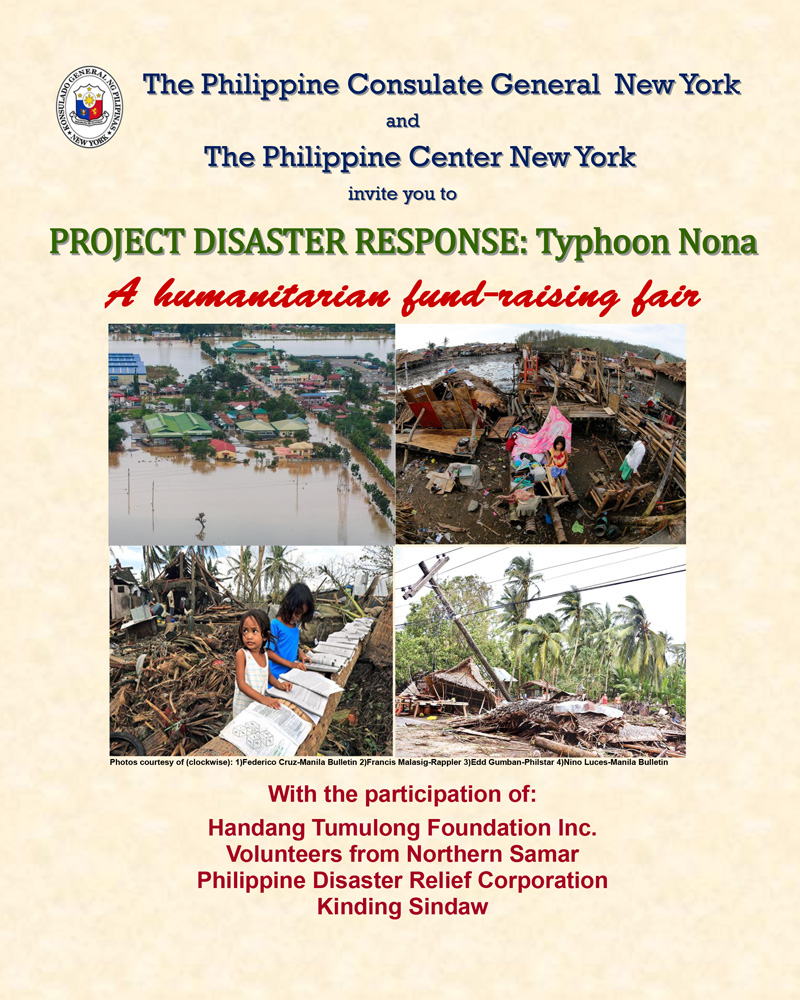 Typhoon-Nona Fund Raising