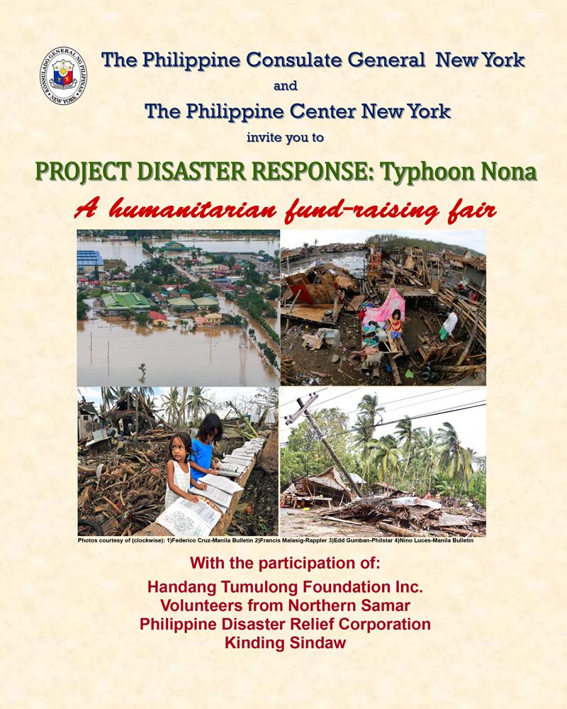 Typhoon-Nona Fund Raising